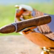 Quantum Ultra Parial Close up with Cigar